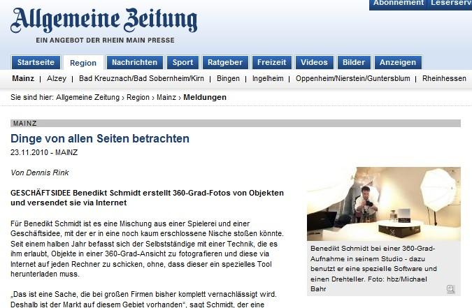 AZ Beitrag vom 23.11.2010