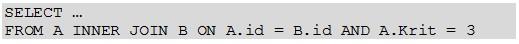 JOINS mit Bedingungen in einem Datenfeld
